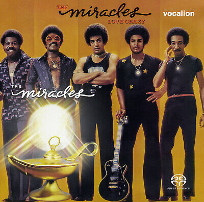 The Miracles - Love Crazy [SACD Multi-channel] & Miracles [SACD Stereo Only]  • 13.99£
