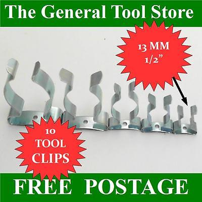 Terry Clips Pack Of10 13 Mm 1/2  Tool Or Spring Clips • 2.75£