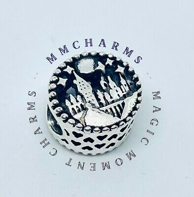 £5.84 • Buy Hogwarts School Witchcraft HARRY POTTER European Charm & Gift Pouch- Silver Tone