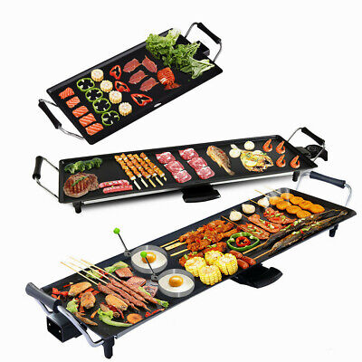£45.99 • Buy Electric Teppanyaki Table Top Grill Griddle BBQ Hot Plate Barbecue L/XL/XXL Size