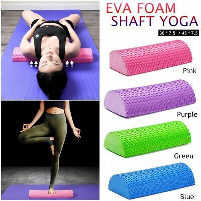 AU20.41 • Buy Fitness Balance Pad Yoga Equipment Blocks Massage Half Round EVA Foam Roller