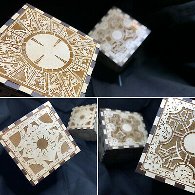 Hellraiser Puzzle Box Laser Engraved Puzzle Box Cube With Stand • 26.93£
