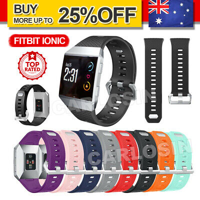 AU6.85 • Buy Fitbit Ionic Band Smart Watch Replacement Wristband Soft Strap Sports Bracelet