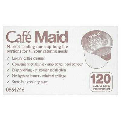 £8.80 • Buy Cafe Maid Luxury Coffee Creamer Pots 12ml Individual Portions Box Of 120