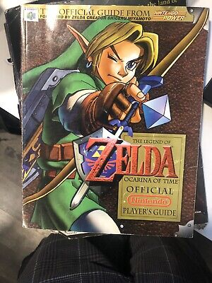 $25 • Buy The Legend Of Zelda Ocarina Of Time Official Nintendo Power Player's Guide N64