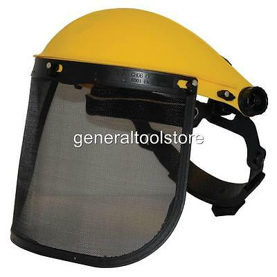 £12.65 • Buy Helmet Metal Visor Strimmers Mowing Strimming Brush Cutters Chainsaws S140868