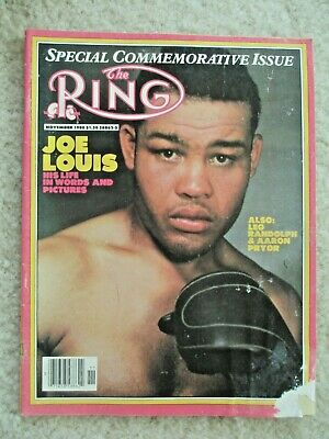 $1.99 • Buy The Ring Magazine November, 1980 Special Commemorative Issue-Joe Louis Cover