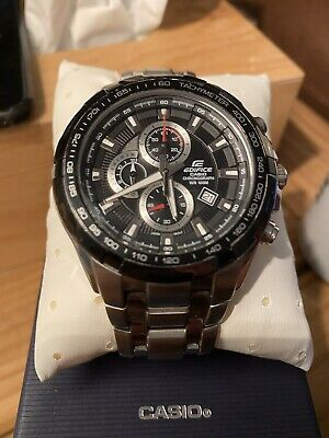 View Details Casio Men's Edifice Watch EF-539D-1AVEF - Used But Very Good Condition • 43.50£