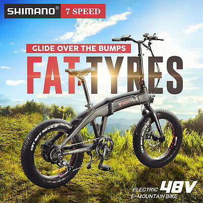 AU1399 • Buy [15%OFF] NEOCYCLE 48V Electric Bike Ebike Mountain Bicycle Lithium Battery