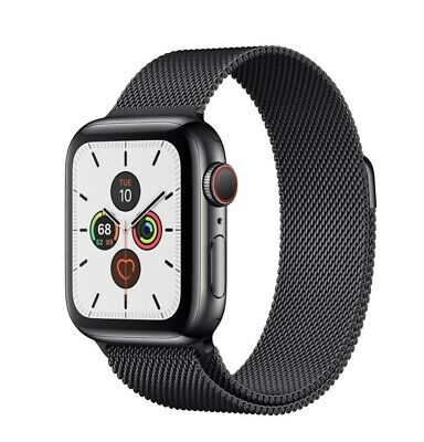 $ CDN652.13 • Buy Apple Watch Series 5 40mm With Milanese Loop -Stainless Steel