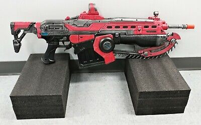 $219.99 • Buy PDP Gears Of War 5 Prop 1:1 Scale Replica Crimson Lancer MK3 In Box Excellent