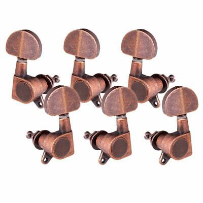 $13.99 • Buy Vintage ROUND Sealed Tuning Pegs Machine Heads 3R 3L Electric Acoustic Guitar
