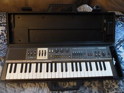 $99 • Buy Vintage Casiotone MT-68 Electronic Keyboard Synthesizer Instrument W/ Case Works