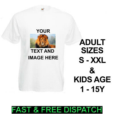 £5.99 • Buy Personalised T-Shirt Custom Image / Text Printed Stag Hen Do Party Kids Boy Girl