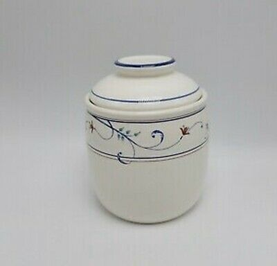 $9.99 • Buy Mikasa - Annette Pattern ( CAC20 ) - Jam/Jelly  Marmalade Jar Dish With Lid