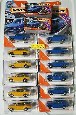 $4.99 • Buy Matchbox- *2020* BMW 2002 (Blue & Orange 2019) LOT OF 2