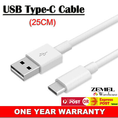 AU7.62 • Buy Short USB 3.1 Type-C To USB 2.0 Cable Charger Lead Data Cord For Samsung A70 A71