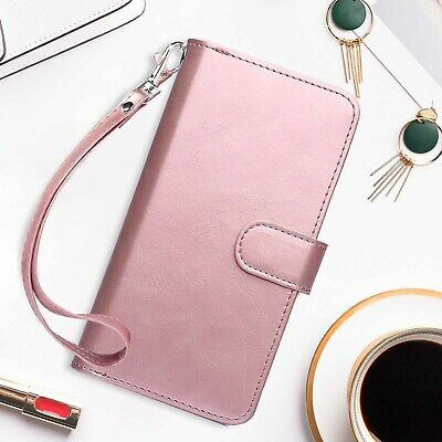 AU23.74 • Buy IPhone 7/8 Case, Wallet With RFID Blocking Flip Cover, Rose Gold For Girl&Women