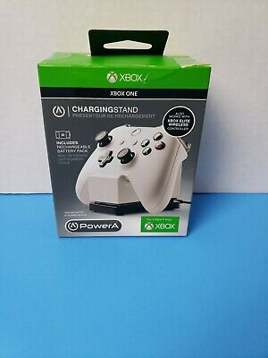 $11.90 • Buy PowerA Charging Stand For Xbox One Wireless Controller Elite Video Gaming White