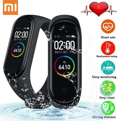 $27 • Buy Global Version Xiaomi Mi Band 4 Color Screen 5ATM 24Hour Heart Rate Monitor