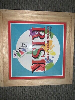 $12 • Buy RISK Continental Game Nostalgia Game Series Wooden Missing Green Pieces 2003