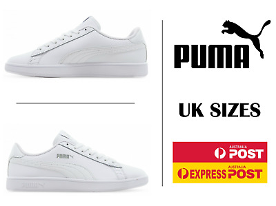 AU68 • Buy Puma Unisex Womens Junior Casual Sneaker Shoes - Puma Smash V2 Shoes UK 3-6