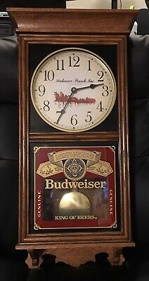 $ CDN391.99 • Buy Vintage Budweiser Clydesdale Pendulum Clock Wisconsin Clock Co AWESOME