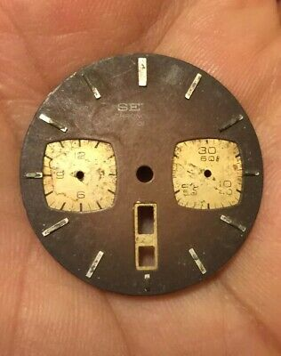 $ CDN33.33 • Buy VINTAGE  Dial Seiko Bullhead  6138-0040  Chronograph Automatic FOR Parts REPAIR