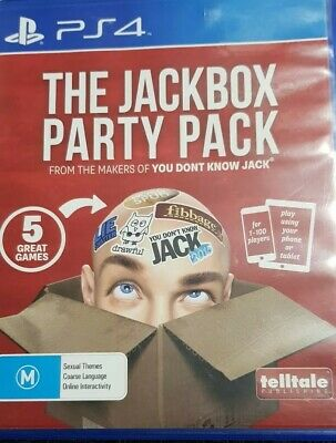 AU80 • Buy The Jackbox Party Pack - Ps4