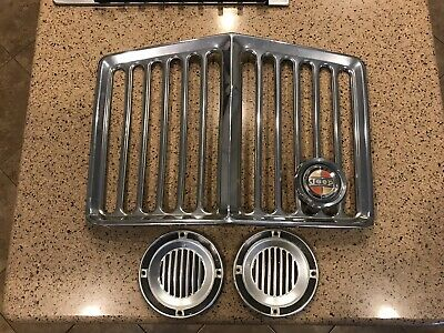 $299 • Buy Very HARD-TO-FIND JEEP GLADIATOR RHINO GRILL 63-69 WITH Emblem OEM L@@k! READ!