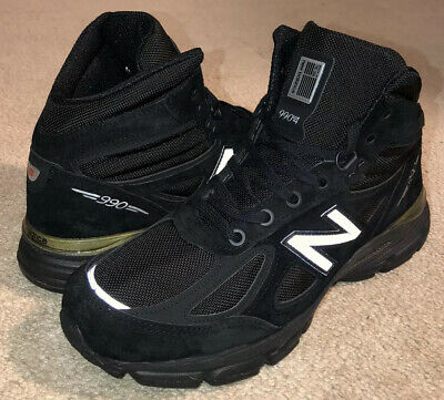 $81.99 • Buy New Balance 990v4 Mid Shoes Boots Black Suede MO990BK4 NEW Men's $185