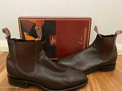 AU177.50 • Buy RM Williams Craftsman Mens Boots Kangaroo Size 8H NEW SOLES!