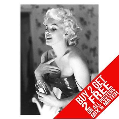 £8.99 • Buy Marilyn Monroe Coco Chanel Bb1 Poster Art Print A4 A3 Size Buy 2 Get Any 2 Free