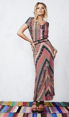 AU45 • Buy Tigerlily Shakeela Maxi Dress Size 8