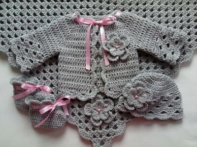 Crochet Pattern Baby Blanket, Hat, Booties. SAME DAY EMAILED TO YOUR EMAIL, F43. • 1.79£