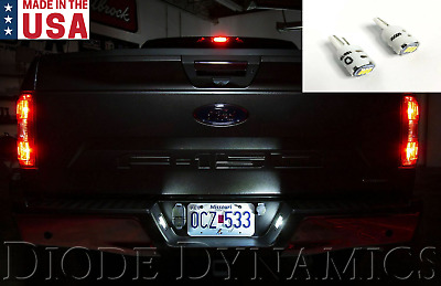 $14.99 • Buy LED License Plate Light Bulbs 2018-2020 Ford F-150 Pure White - Diode Dynamics