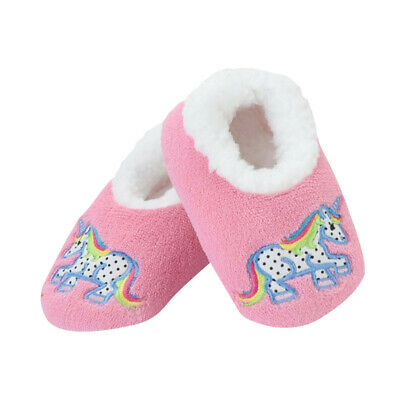 AU16 • Buy Baby Patch Pals SLUMBIES Unicorn Small Slippers Authentic