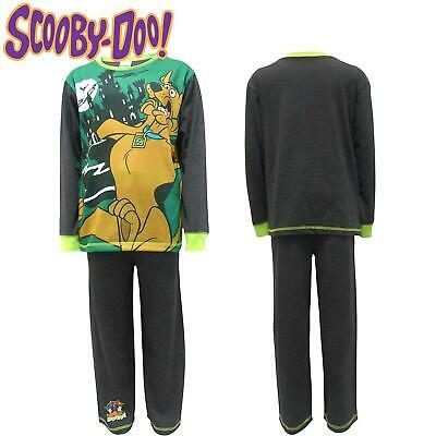 Scooby Doo Childrens Haunted House Cotton Pyjamas Long Sleeved Top And Bottoms • 6.99£