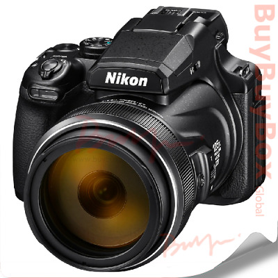 AU1123.88 • Buy NIKON COOLPIX P1000 Compact Camera Black