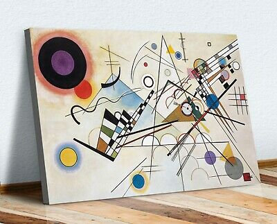 Wassily Kandinsky Composition VIII CANVAS WALL ART PRINT ABSTRACT PAINTING • 25.49£