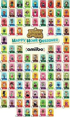 AU8.99 • Buy ANIMAL CROSSING: SERIES 1 AMIIBO CARDS - NEW HORIZONS/HAPPY HOME Nintendo Switch