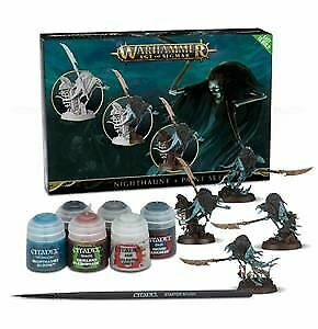 Nighthaunt Paint Set, Citadel Paint, Warhammer 40,000 Age Of Sigmar • 20£