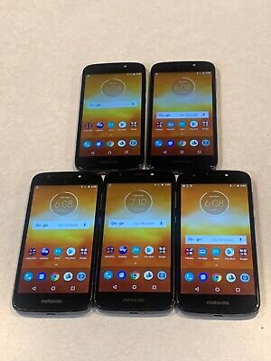 $ CDN262.91 • Buy Lot Of 5 Motorola Moto E5 Play XT1921-3 16GB GSM Unlocked Smartphones