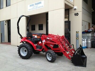 AU21900 • Buy New TYM T273, 4-wd Tractor With 4in1 Loader, Industrial Tyres, HST With P/Steer