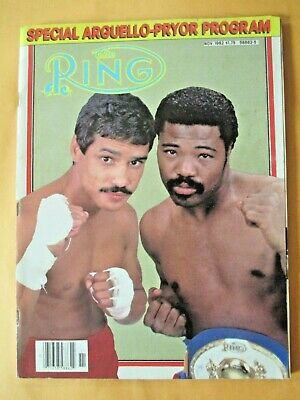 $1.99 • Buy The Ring Magazine November, 1982  Alexis Arguello And Aaron Pryor On Cover