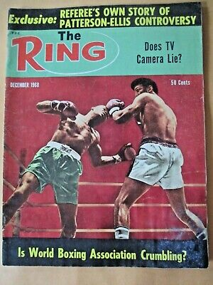 $4.99 • Buy The Ring Magazine December, 1968  Floyd Patterson And Jimmy Ellis Cover