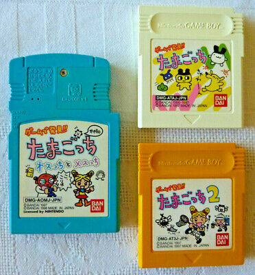 AU15 • Buy 3 Unusual Tamagotchi Gameboy Games Nintendo Japan - Game De Hakken!! Tamagotchi
