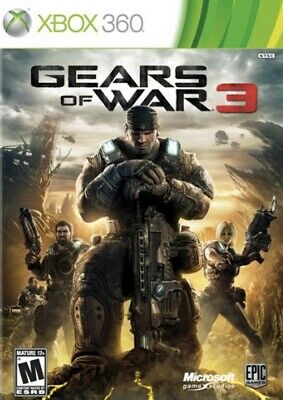 $4 • Buy Gears Of War 3 Xbox One Xbox 360 DIGITAL CODE 24/7 Delivery Code