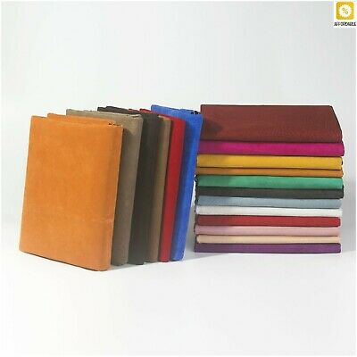 £6.63 • Buy Lining Shoes Suede Hide Skin Leather For Leathercraft Sewing Accessories Slit