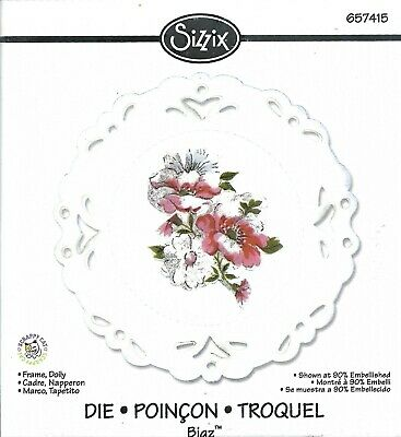 Sizzix Bigz Die - 657415 Frame, Doily By Scrappy Cat • 7.49£